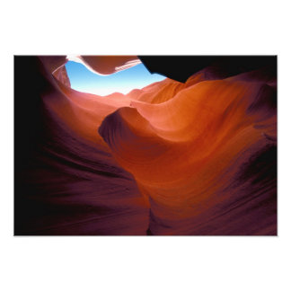 NA, USA, Arizona, Paria canyon. Sandstone Photo Print