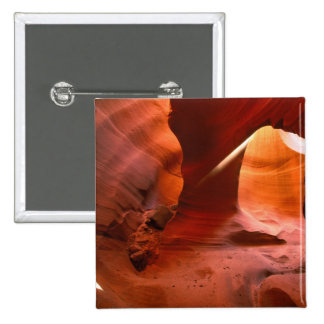 NA, USA, Arizona, Paria Canyon. Sandstone Pinback Button