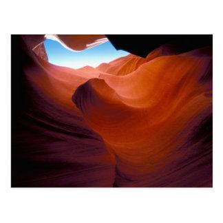 NA, USA, Arizona, Paria canyon. Sandstone Postcard