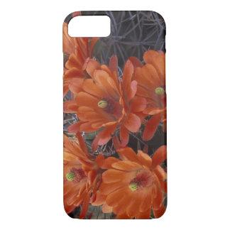 NA, USA, Arizona, San Xavier. Claret Cup cactus iPhone 8/7 Case