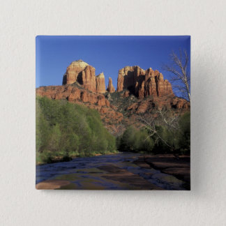 NA, USA, Arizona, Sedona. Cathedral Rock and Oak Button