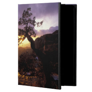 NA, USA, Arizona, Tucson, Sunset and lone Cover For iPad Air