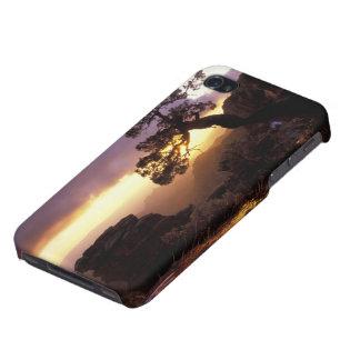 NA, USA, Arizona, Tucson, Sunset and lone iPhone 4/4S Case