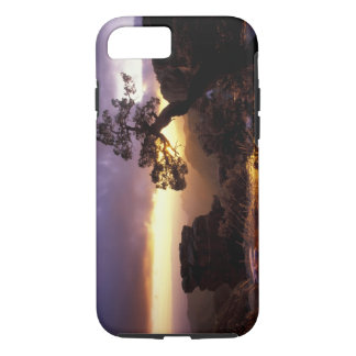 NA, USA, Arizona, Tucson, Sunset and lone iPhone 8/7 Case