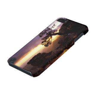 NA, USA, Arizona, Tucson, Sunset and lone iPod Touch 5G Cover