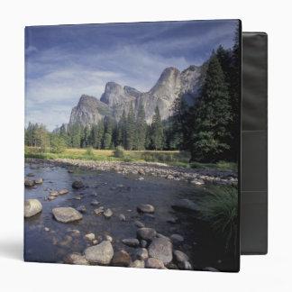 NA, USA, California, Yosemite NP, Valley view Binder