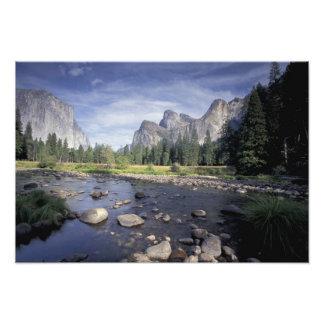 NA, USA, California, Yosemite NP, Valley view Photograph