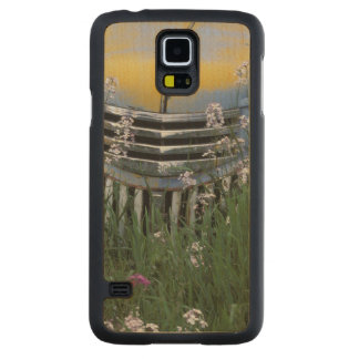 NA, USA, eastern Washington, Old truck with Carved Maple Galaxy S5 Case