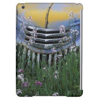 NA, USA, eastern Washington, Old truck with iPad Air Cover