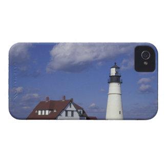 NA, USA, Maine, near Portland, Portland Head iPhone 4 Case