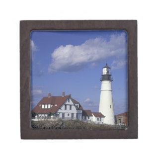 NA, USA, Maine, near Portland, Portland Head Premium Keepsake Box