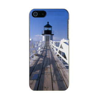 NA, USA, Maine, Port Clyde.  Marshall Point 2 Metallic Phone Case For iPhone SE/5/5s