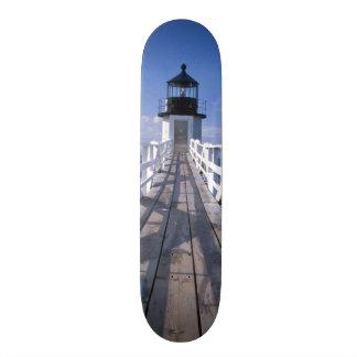 NA, USA, Maine, Port Clyde.  Marshall Point 2 Skateboard Deck