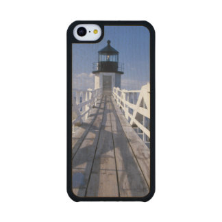NA, USA, Maine, Port Clyde.  Marshall Point 2 Carved® Maple iPhone 5C Slim Case