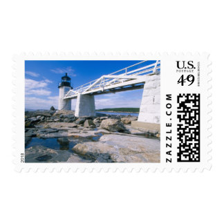 NA, USA, Maine, Port Clyde.  Marshall Point Postage