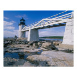NA, USA, Maine, Port Clyde.  Marshall Point Poster