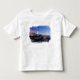 NA, USA, Maine. Portland Head lighthouse. Toddler T-shirt