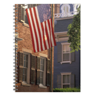 NA, USA, Massachusetts, Nantucket Island, 2 Spiral Notebooks