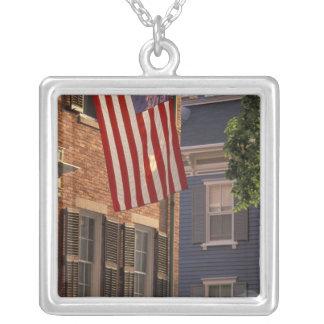 NA, USA, Massachusetts, Nantucket Island, 2 Silver Plated Necklace