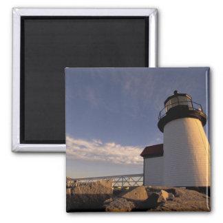 NA, USA, Massachusetts, Nantucket Island, 3 2 Inch Square Magnet