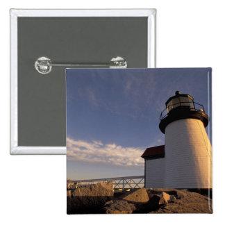 NA, USA, Massachusetts, Nantucket Island, 3 2 Inch Square Button
