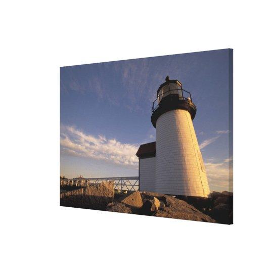 NA, USA, Massachusetts, Nantucket Island, 3 Canvas Print
