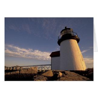 NA, USA, Massachusetts, Nantucket Island, 3 Greeting Card