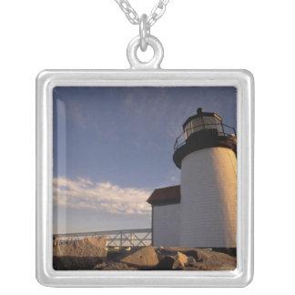 NA, USA, Massachusetts, Nantucket Island, 3 Silver Plated Necklace