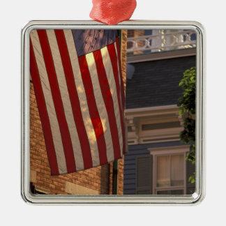 NA, USA, Massachusetts, Nantucket Island, Metal Ornament