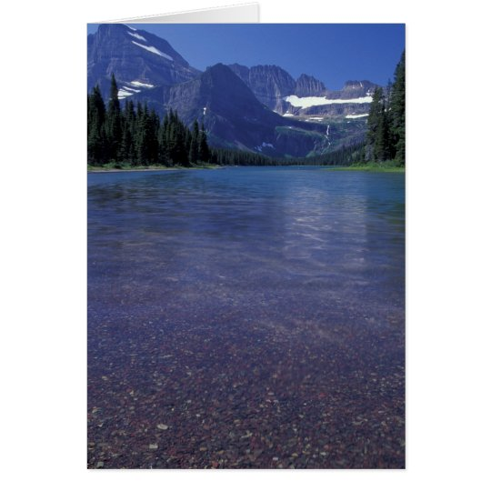NA, USA, Montana, Glacier National PArk. Card