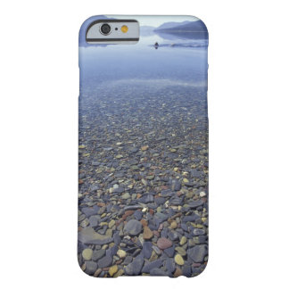 NA, USA, Montana, Glacier NP Rocks in Lake Barely There iPhone 6 Case