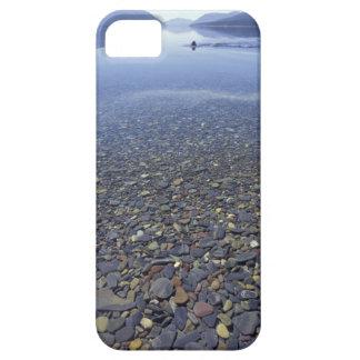 NA, USA, Montana, Glacier NP Rocks in Lake iPhone SE/5/5s Case