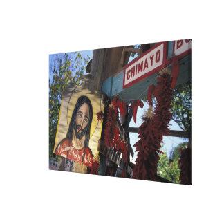 NA, USA, New Mexico, Santa Fe. Gallery Wrapped Canvas