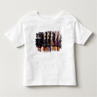 NA, USA, New Mexico, Santa Fe. Cowboy boots Toddler T-shirt
