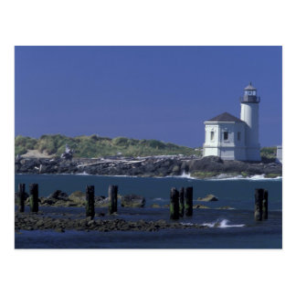 NA, USA, Oregon, Bandon, Coquille Lighthouse Postcard