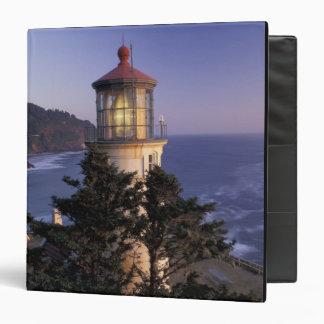 NA, USA, Oregon, Heceta Head Lighthouse, 3 Ring Binder
