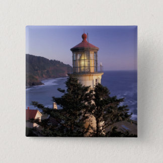 NA, USA, Oregon, Heceta Head Lighthouse, Button