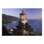 NA, USA, Oregon, Heceta Head Lighthouse, Photo Print