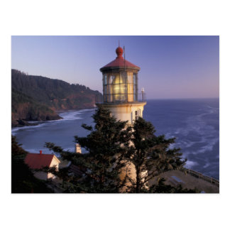 NA, USA, Oregon, Heceta Head Lighthouse, Postcard
