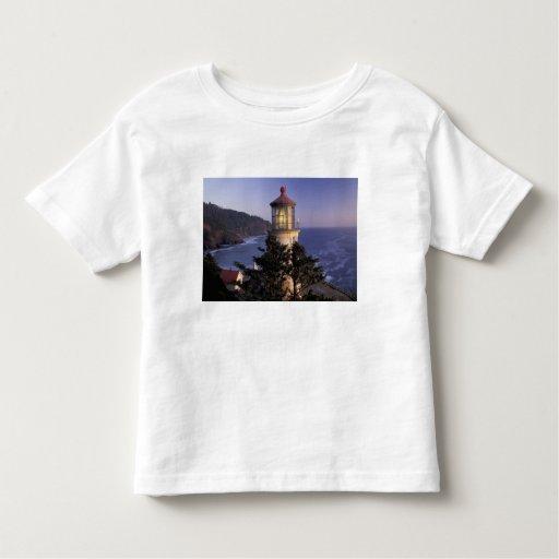 NA, USA, Oregon, Heceta Head Lighthouse, Tee Shirts