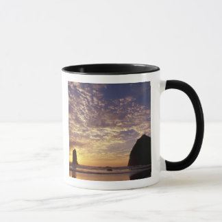 NA, USA, Oregon, Oregon Coast, Canon Beach with Mug