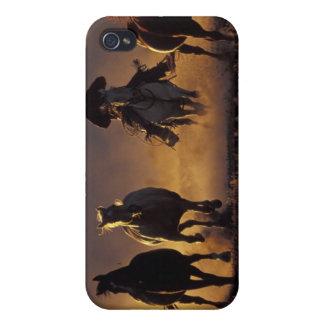 NA, USA, Oregon, Seneca, Ponderosa Ranch, Cowboy 2 iPhone 4 Cases