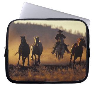 NA, USA, Oregon, Seneca, Ponderosa Ranch, Cowboy 2 Laptop Computer Sleeve