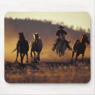 NA, USA, Oregon, Seneca, Ponderosa Ranch, Cowboy 2 Mouse Pad