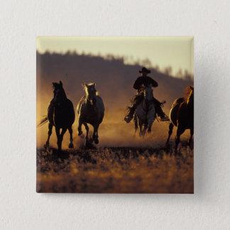 NA, USA, Oregon, Seneca, Ponderosa Ranch, Cowboy 2 Pinback Button