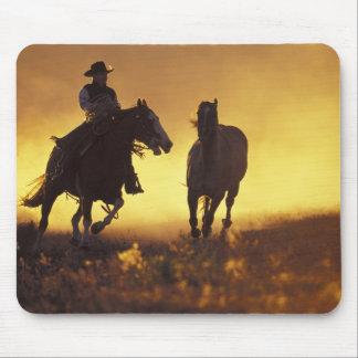 NA, USA, Oregon, Seneca, Ponderosa Ranch, Cowboy 3 Mouse Pad