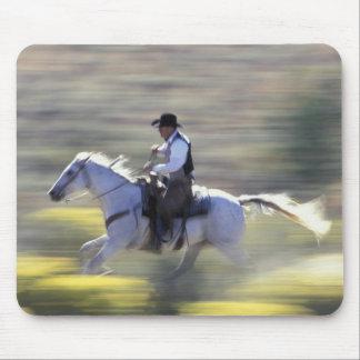 NA, USA, Oregon, Seneca, Ponderosa Ranch, Cowboy Mouse Pad