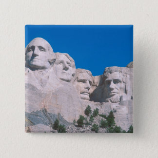 NA, USA, SD, Mount Rushmore. Pinback Button