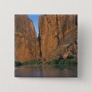 NA, USA, Texas, Big Bend National Park. Rio Pinback Button