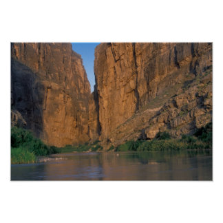 NA, USA, Texas, Big Bend National Park. Rio Poster